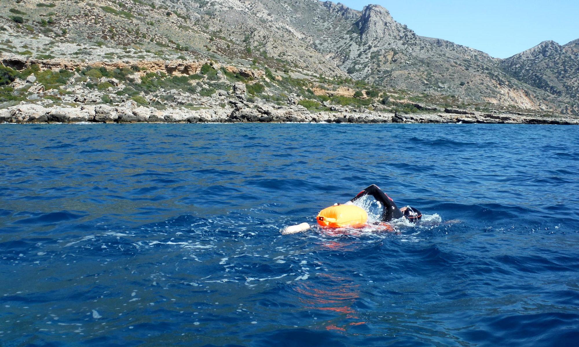 Swim Paleochora 06